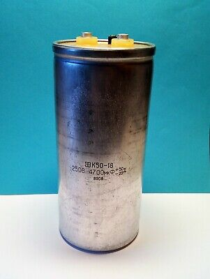 Lot 1 pc Aluminum oxide capacitor 10000uF- 100v Made in USSR NEW