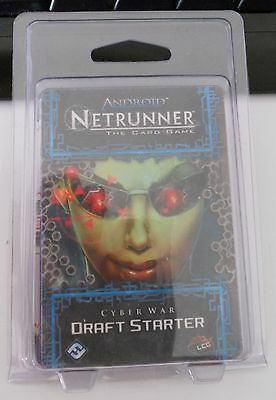 Android: Netrunner The Card Game Cyber War Draft Starter
