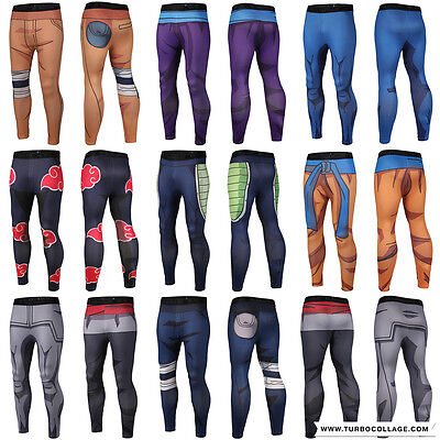 Unisex 3D Graphic Printed Stretchy Leggings Sports Gym Skinny Fit Pants Trousers