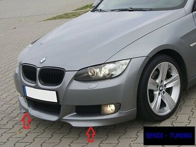 Bmw E92 E93 Front Bumper Spoiler / Skirt / Lip / Splitter M-Tech Look New !!!