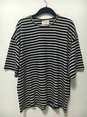 2016 CLWD Fear of God FOG Fourth Striped Lines Oversize Tshirt Tee Short Sleeve