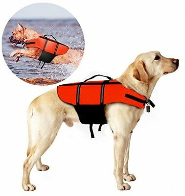 Poppypet Life Jackets For Dogs, Outward Hound Life Jacket, Dog Floatation Saver