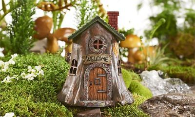 My Fairy Gardens Mini - Fairy Welcome Tree House - Supplies Accessories