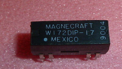 USED 1PC Magnecraft W172DIP-17 DPDT 5vdc 3Amp Mini Reed PCB Relay CUT LEEDS!