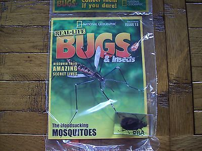 National Geographic Real-life Bugs & Insects magazine Issue 13