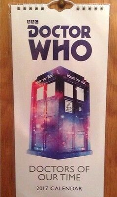 Reduced To Clear Sale Dr Who 2017 Callander Calander Ideal Gift