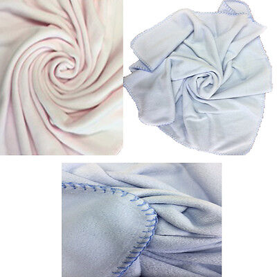 Silvercloud Baby Soft Fleece Blanket - Blue/Pink FREE DELIVERY!