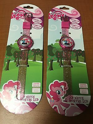 (Lot of 2) My little Pony LCD Watches for Girls