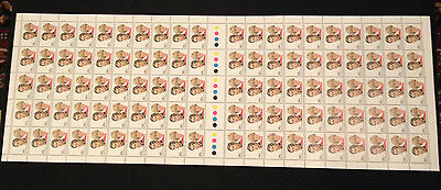 Rare Not Folded 100 MUH 1981 Royal Wedding Charles and Diana 24c Stamps