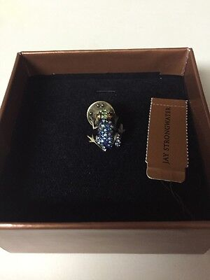Jay Strongwater Jewelry, Frog Pin