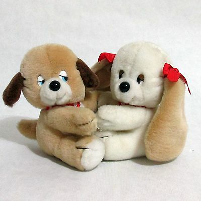 Applause Vintage Puppy Love Stuffed Plush Dogs 1987 Wallace Berrie