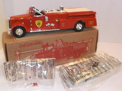 ERTL 1955 Ward LaFrance Fire Engine BANK Die-Cast Mint Boxed 1:32