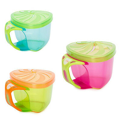 Vital Baby No More Mess Trap a Snack  Blue/Pink/Green FREE DELIVERY!