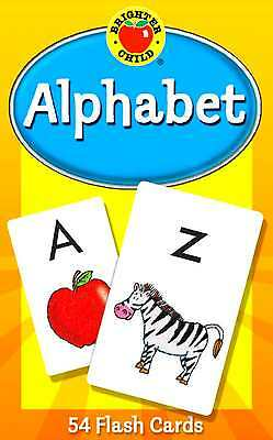 Alphabet Flash Cards Learning Brighter Child Flashcards Set Preschool Abc Kids
