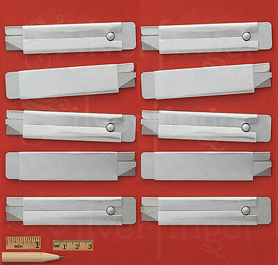 5—10—25—50 Utility Knives Carton Knife Box Cutter Single Edge Razor Blades Steel