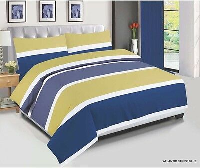 Cotton Bedding Set, Quilt Cover,  Duvet Cover With Pillow Cases & Fitted Sheet