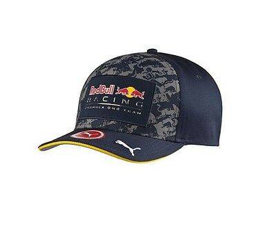 Casquette Fitted RED BULL RACING Team bleue - Formule 1