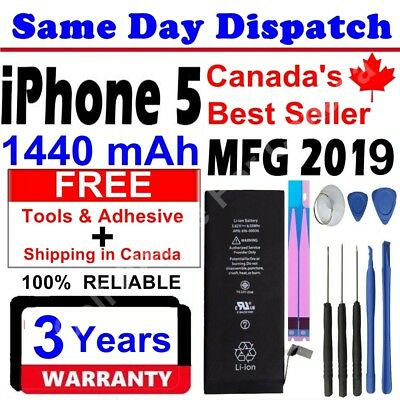 Brand NEW Original OEM Replacement iPhone 5 Battery 1440 mAh With Free Tools