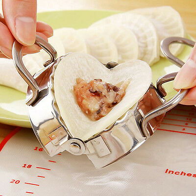 Stainless Steel Dumpling Maker Dough Press Mould for Home Kitchen Gadgets Tools