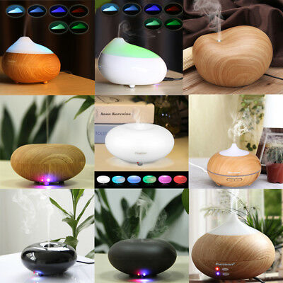 Essential Oil Aroma Diffuser Purifier Ultrasonic Air Humidifier Aromatherapy LED