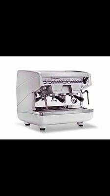 Brand New 2 Group 10 Amp High Compact Nouva Simoneli Commercial Coffee Machine