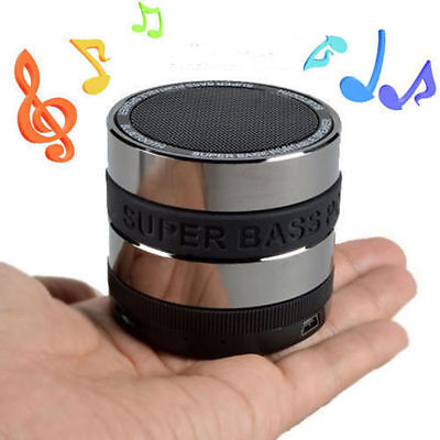 BLUETOOTH WIRELESS SPEAKER MINI PORTABLE SUPER BASS FOR Phone TABLET PC MY