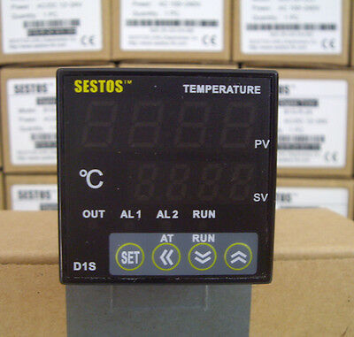 Sestos D1S-2R-220 Digital Pid Temperature Controller thermostat heater control