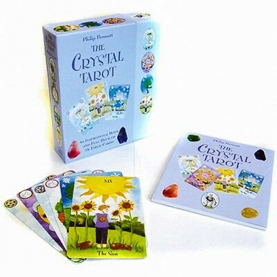 ✨NEW The Crystal Tarot Cards Deck Book Philip Permutt Fortune Telling✨
