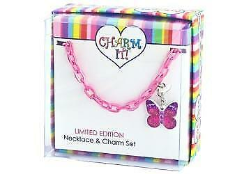 Charm It - Girls Necklace Gift Set - Pretty Butterfly Necklace Gift Set