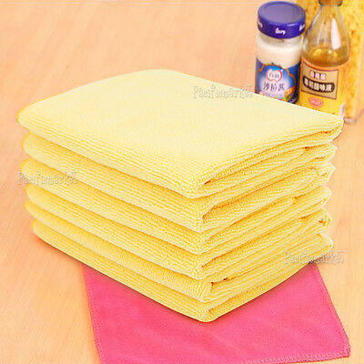 10 Microfibre Cleaning Cloth Towel for Car & Home Thick & Ultra soft 40x40cm