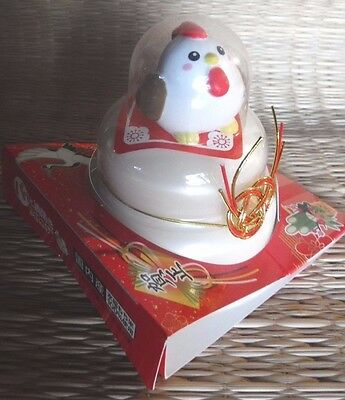 NIW JAPANESE 2017 NEW YEAR of the ROOSTER KAGAMI MOCHI EDIBLE THRU MARCH 2017