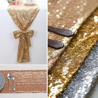 Rectangular Sequin Tablecloth Table Cloth Cover Wedding Party Banquet Decoration