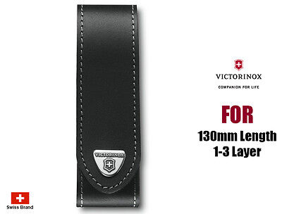 Victorinox Leather Belt Pouch For 130mm 1-3 Layers Swiss Army Knife 4.0505.L