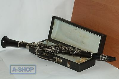 Clarinet made in USSR with case VINTAGE