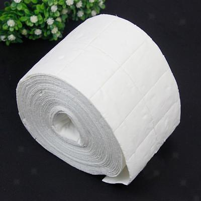 500pcs/Roll Nail Art Wipes Gel Clean Acrylic Nails Polish Remover Pads