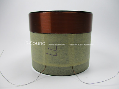 1pc Speaker 49.5mm bass voice coil woofer sound repair parts woofer replace