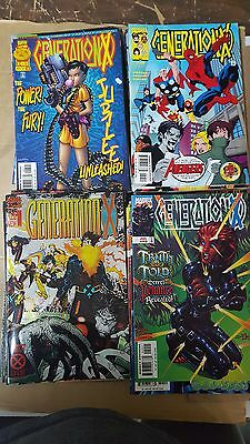 from X-men Comic Lot generation x 1-75 vf+ bagged