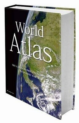 Large World Atlas The Cartographic Encyclopedia of Planet Earth Geography Books