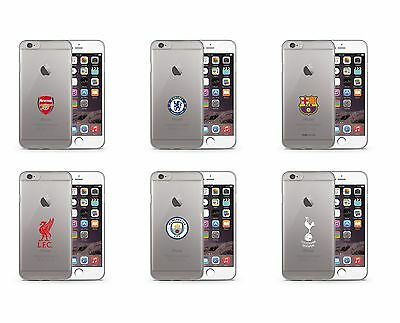 Football Club TPU Clear Apple Iphone 6 6s Cover Case Official Premium Protector