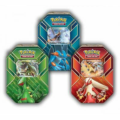 POKEMON HOENN POWER TIN *  Hoenn Power Tin: Bundle of 3
