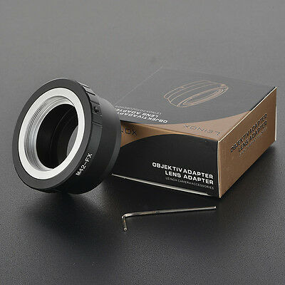 LEINOX M42 mount lens to Fujifilm X-Pro1 FX mount Camera adapter M42-FX