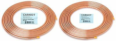1/4 x 3/8 Total 100FT HVAC Copper Tubing Soft Type A/C & Refrigeration Tubing