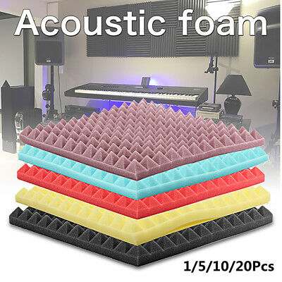 Acoustic Foam Sound Treatment Absorption Egg Panels Tiles Studio/Music