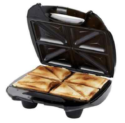 Sandwich Toaster Maker Machine 4 Slice Portion Toasted Russell Hobbs Non Stick