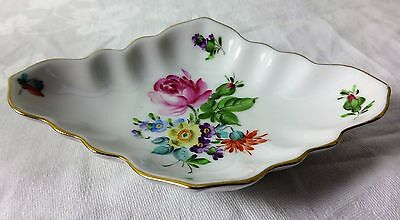 Pretty Floral Vintage Herend hand painted Pin Dish