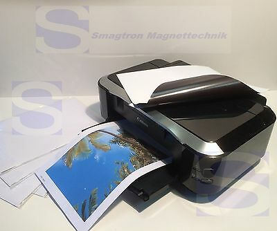 50 x DIN A3 Magnetic paper Photo printing matt white A3 - foil