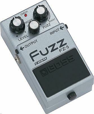 Boss Fz-5 Hyper Fuzz Box Guitar Effects Pedal 2 3