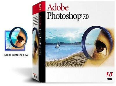 Adobe Photoshop 7.0 For Windows Lifetime License, Instant Email Delivery