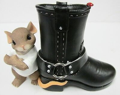 Charming Tails 89/283 *  Sole Of A Rebel - RETIRED * Brand New in Box!
