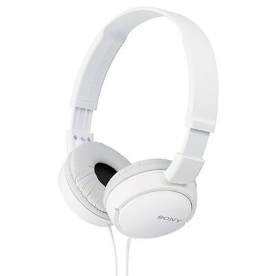 Sony Stereo Headphones, White 1 ea (Pack of 5)